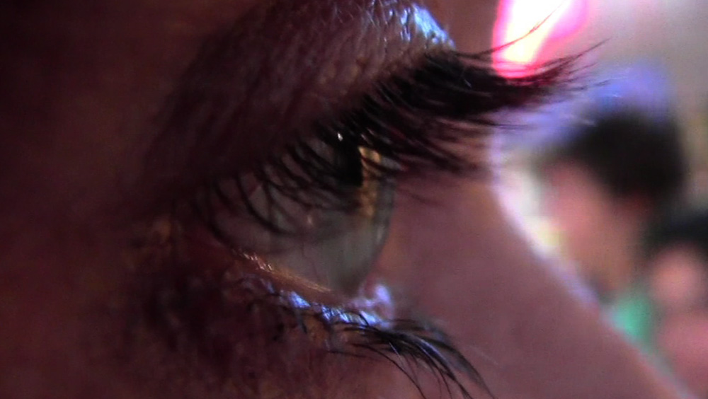 Carla Degenhardt, Walking Eye, Videoprojektion, 19 min